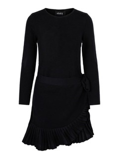 Ella&il Christina merino dress black