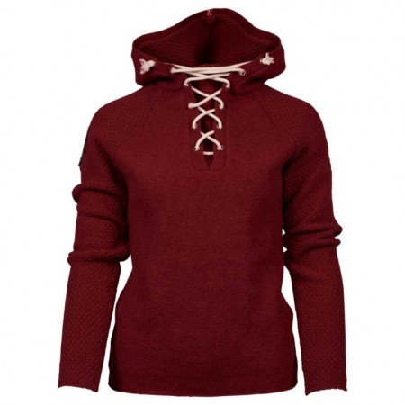 Amundsen Boiled hoodie laced ruby red