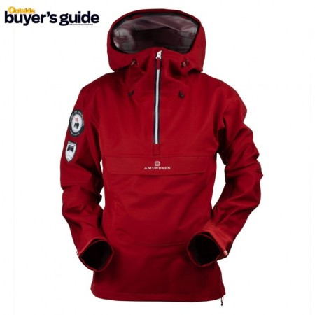 Amundsen Peak Anorak Woman Ruby red